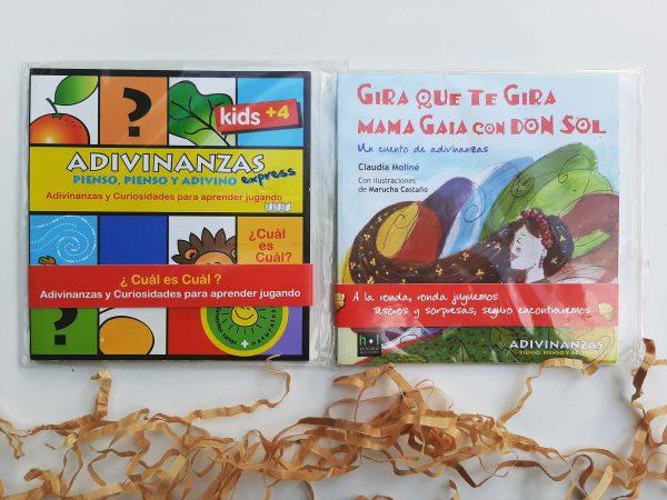Eco Valijita para leer, jugar y plantar
