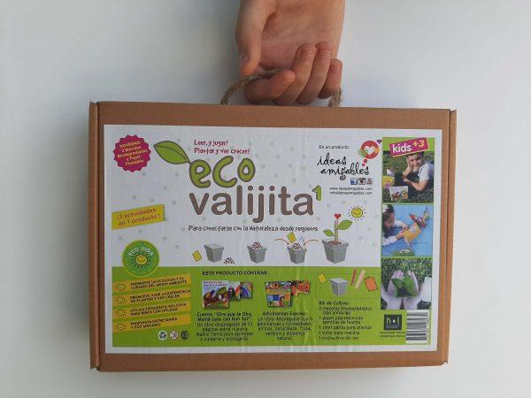 Eco Valijita para leer jugar y plantar