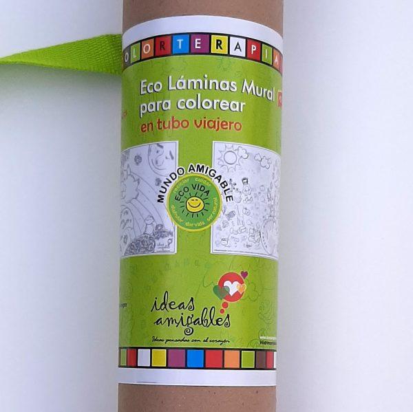 Eco Láminas Mural en Tubo Viajero.